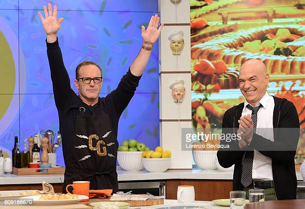 THE CHEW Clark Gregg is the guest today Tuesday September 20 2016 on The Chew The Chew airs MONDAY FRIDAY on the Walt Disney Television via Getty...