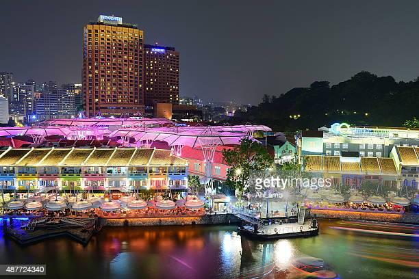 Clark Quay, Singapore,