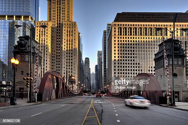 Clark Street Bridge, Downrown Chicago