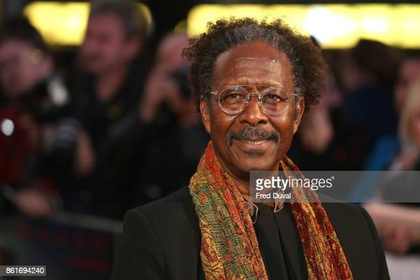 Clarke Peters attends the UK Premiere of 'Three Billboards Outside Ebbing Missouri' at the closing night gala of the 61st BFI London Film Festival on...