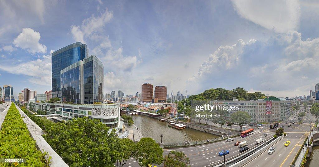 Clarke Quay, Singapore : Stock Photo