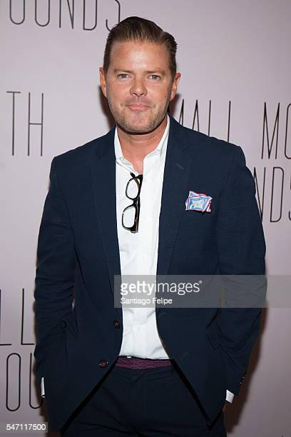 Clarke Thorell attends 'Small Mouth Sounds' opening night at The Pershing Square Signature Center on July 13 2016 in New York City