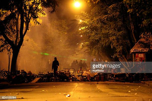 Clashes after the Polytechnic anniversary rally marking the 43rd anniversary of a student uprising in 1973 against the military dictatorship Athens...