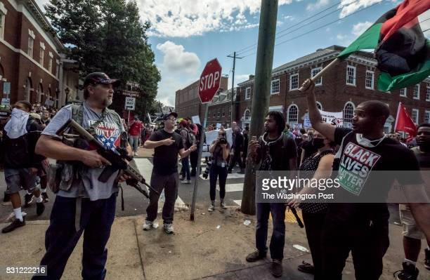 Clashes at the Unite the Right rally in Charlottesville VA August 12 2017