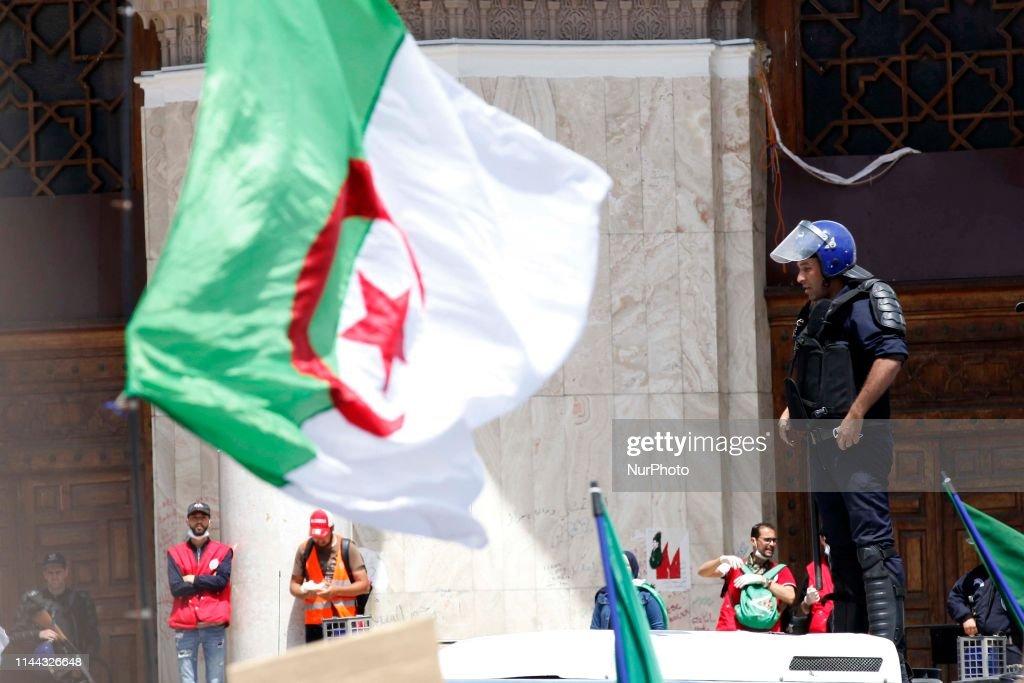 DZA: Anti-government Protest In Algeria