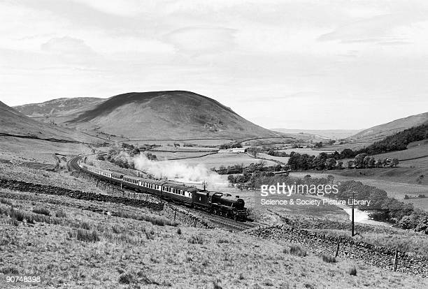 Class 5 steam locomotive No 45435 with express passenger train Lune Valley Durham c 1950s Photograph by Bishop Eric Treacy Treacy was often allowed...