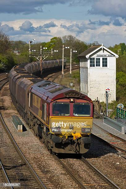 CONTENT] Class 66 coal train en route through Barnetby in the UK heading to the steelworks at Scunthorpe