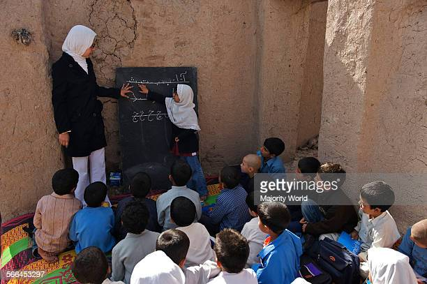 A class at the Community Based School in Qalae Haji Yahya village in Anjil district of Herat Province Afghanistan A total number of 395 children...