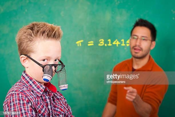 Class Clown:  π= 3.1415