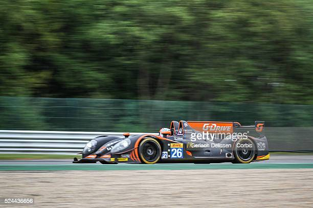 Class G-Drive Racing Morgan Nissan of Roman Rusinov / Olivier Pla / Julien Canal in action during Free Practice 2 of Round 2 of the 2014 FIA World...