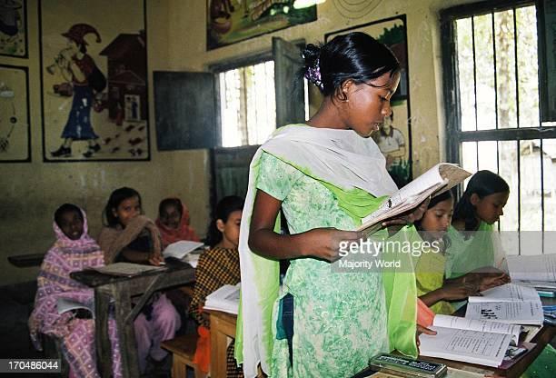 A class in Sonapur high school Pirojpur Meherpur Bangladesh 2007