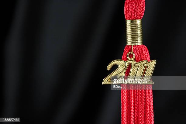 class of 2011 tassel - tassel stock pictures, royalty-free photos & images