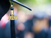 Class of 2020 Graduation Ceremony Tassel Black