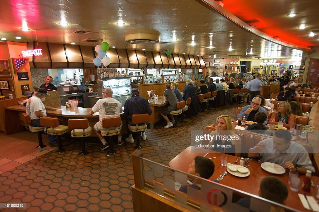 Classic 1950's Diner, Bob's Big Boy, Riverside Drive, Burbank