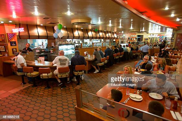 Classic 1950's Diner Bob's Big Boy Riverside Drive Burbank California
