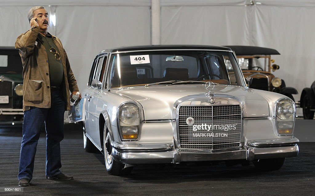 A classic 1967 Mercedes-Benz 600SWB limo Pictures   Getty Images