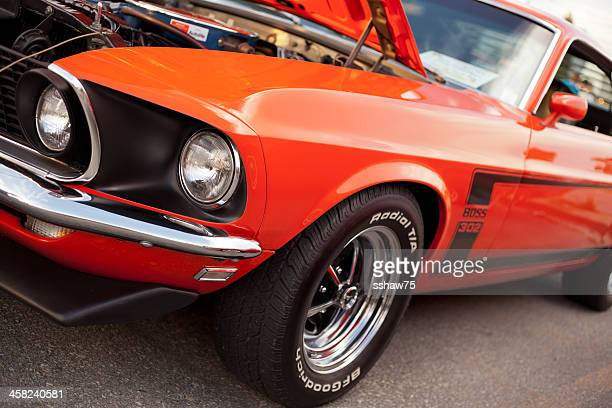 Classic 1969 Ford Mustang 302 Boss