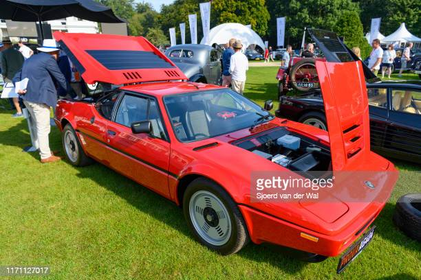 M1 classic 1970s German sports car on display at the 2019 Concours d'Elegance at palace Soestdijk on August 25 2019 in Baarn Netherlands This is the...