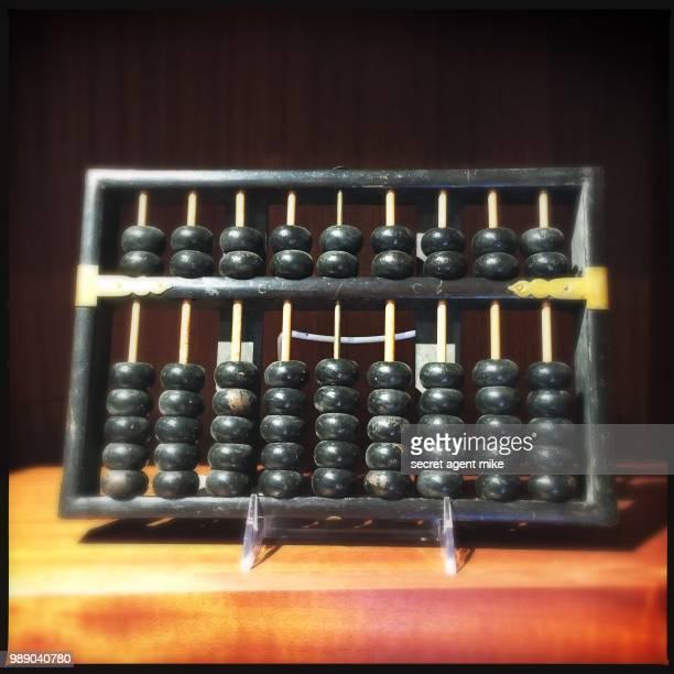 classic abacus - abaco imagens e fotografias de stock