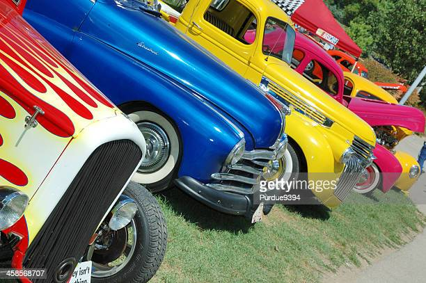 Classic American Automobiles on display at Frog Follies Car Show