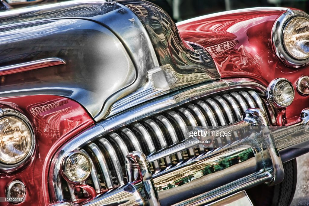 Classic American Car : Stock Photo