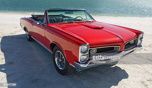 classic american muscle car - vintage car stock pictures, royalty-free photos & images