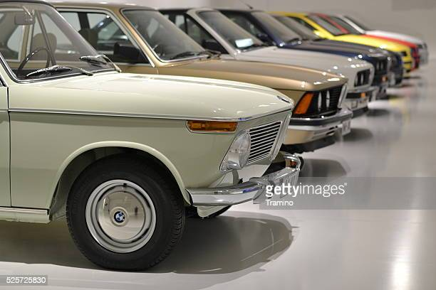 Classic BMW vehicles