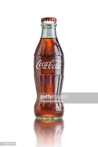 クラシックなボトルのコカコーラ