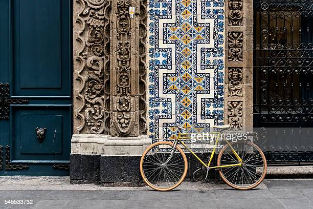 classic building in centro historico mexico city - mexico city stock pictures, royalty-free photos & images