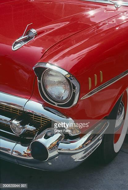 Classic car, close-up