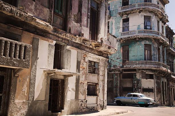 Classic Car In Old Havana Wall Art