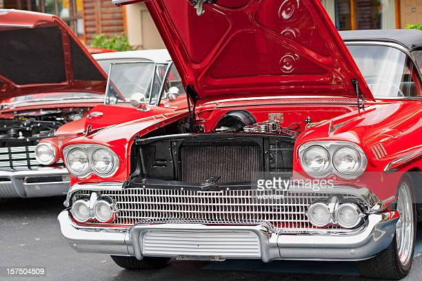 classic car series - motor show stock pictures, royalty-free photos & images