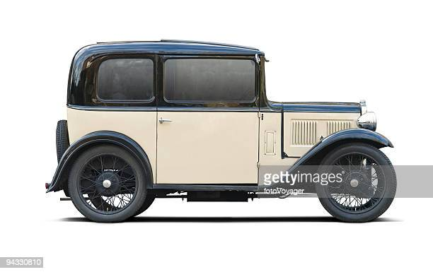 classic car with clipping paths - vintage car stock pictures, royalty-free photos & images