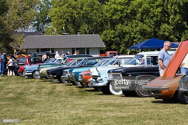 Classic Cars at a Show