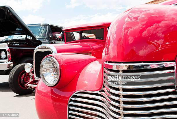 classic cars - hot rod car stock photos and pictures