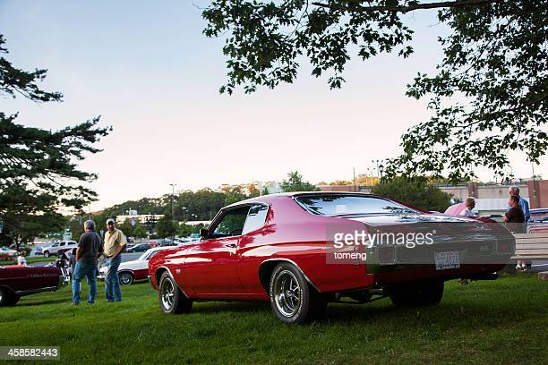 classic chevrolet chevelle ss - bedford nova scotia stock pictures, royalty-free photos & images