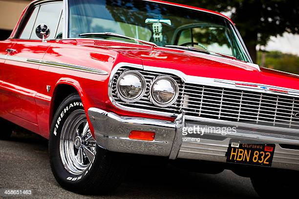 classic chevrolet impala - chevrolet impala stock pictures, royalty-free photos & images