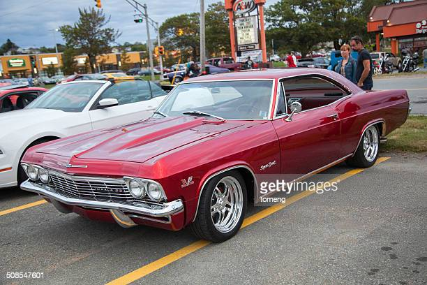 classic chevrolet impala ss - chevrolet impala stock pictures, royalty-free photos & images