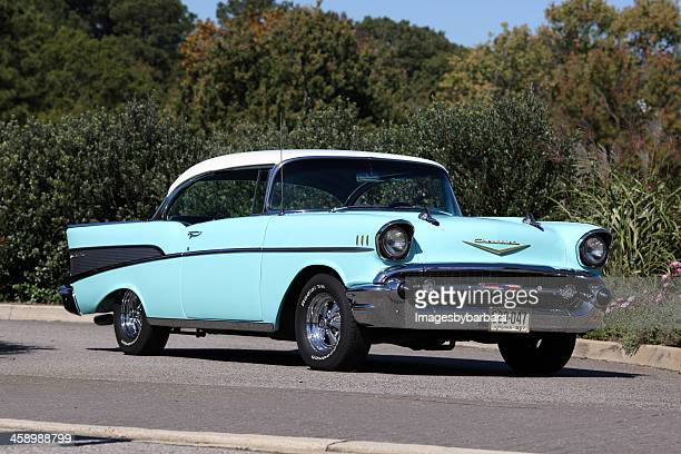classic chevrolet - 1957 stock pictures, royalty-free photos & images