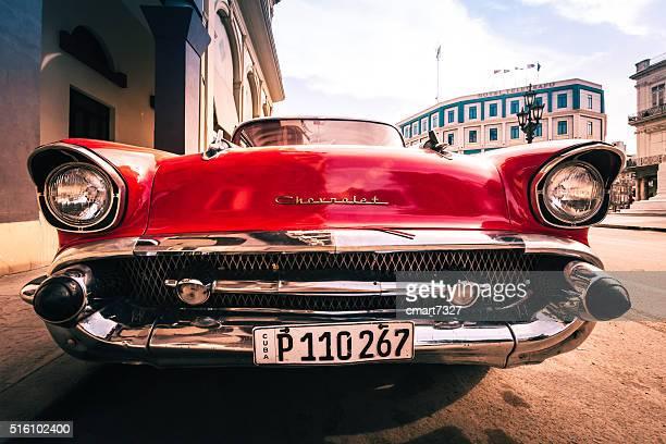 Classic Chevy in Havana