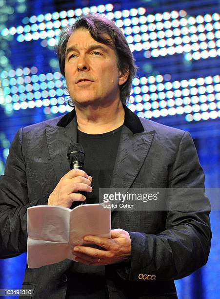 BMI Classic Contribution Award recipient Composer David Newman speaks onstage at BMI's 57th Annual Film And Television Awards held at The Beverly...