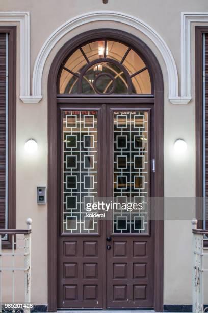 Classic double doorway