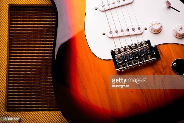 Classic Guitare électrique et Amp Nature morte