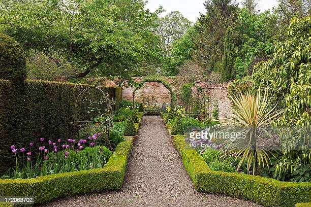 Classic English Garden at Wollerton Old Hall