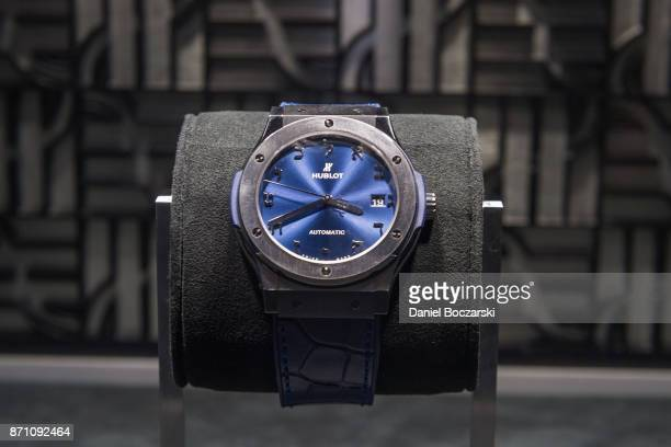 Classic Fusion Limited Edition Alef bet is on display as Hublot celebrates the new timepiece with Geneva Seal on November 6 2017 in Chicago Illinois
