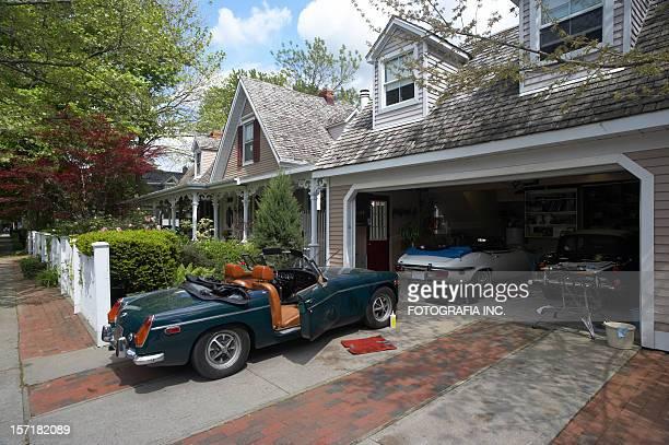 Klassische Garage