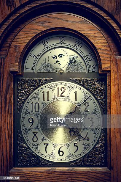 Classic Grandfather Clock
