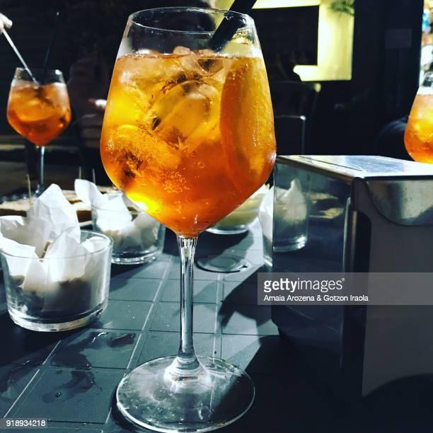 Classic italian Spritz cocktail