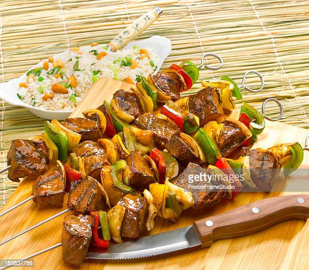 Classic kabobs on skewers