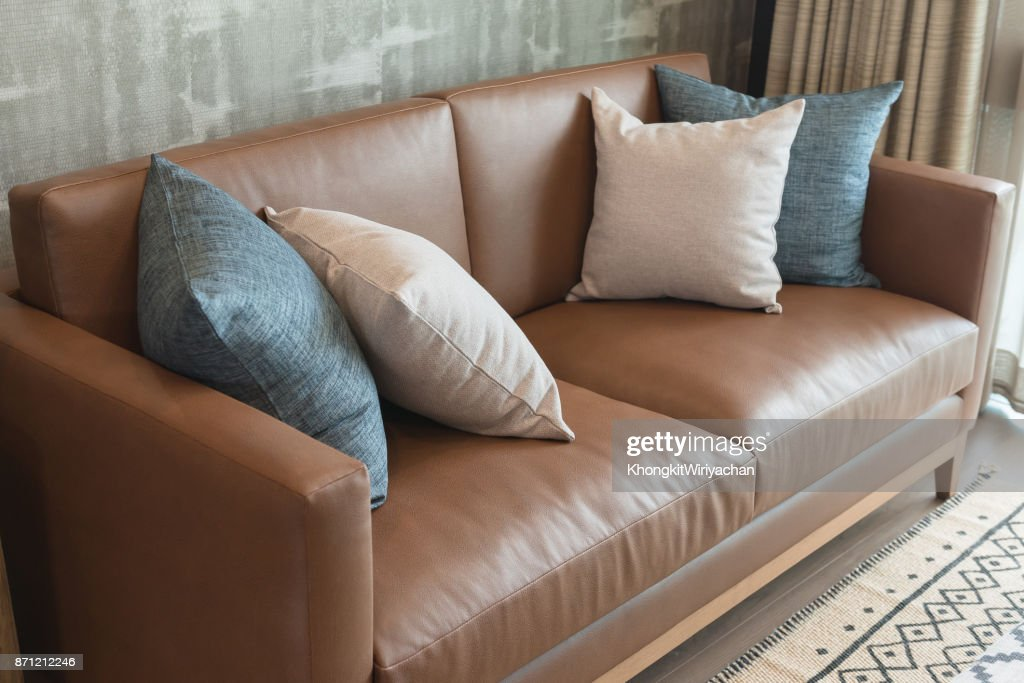 classic living room style with classic sofa : Stock Photo